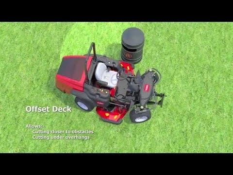 Toro Groundsmaster® 360 Quad-Steer™ Mower (US) - Extended Version