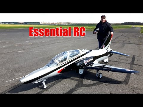 GIANT 1:3.5 SCALE RC BAe Hawk 100 TURBINE JET (Tomahawk Design)
