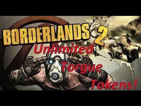 Borderlands 2 Unlimited Torgue Tokens!