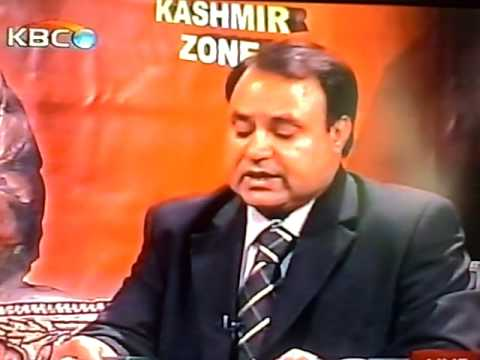 KASHMIR THIS WEEK @ KBC TV Tuesday 7th July 2009  (2)