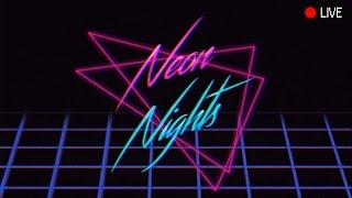 Retrowave/Synthwave/Darkwave Neon Nights Midnight Radio