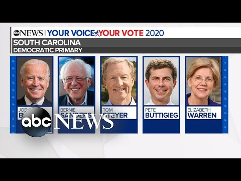 Biden projected winner of South Carolina primary l ABC News