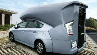 INGENIOUS CAR INVENTIONS THAT WILL TAKE YOUR CAMPING TO ANOTHER LEVEL
