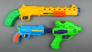 Guns Toy for Kids - Learn Colors with Box of Toys Guns for Kids - Colored Toy Guns