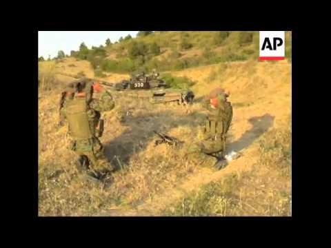 Georgian troops leave Gori, Senaki damage, Russian troops