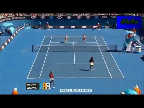 Sara Errani/ Roberta Vinci vs Venus Williams/ Serena Williams 2013 AO Highlights