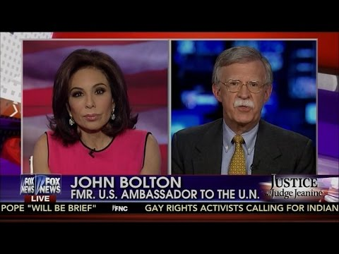 John Bolton With Judge Jeanine On Iran Nuke Deal ➠ It's Going To End Badly For The US & It's Friends
