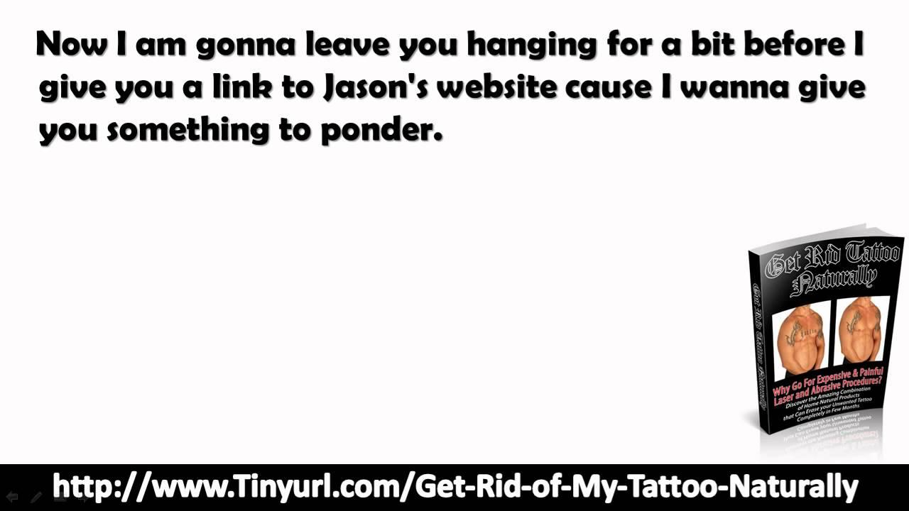 Get Rid Of Tattoo Naturally Pdf