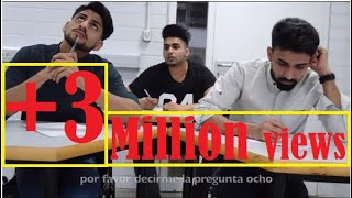3 idiots in exam hall