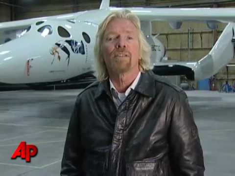 Virgin Galactic Unveils Commercial Spaceship