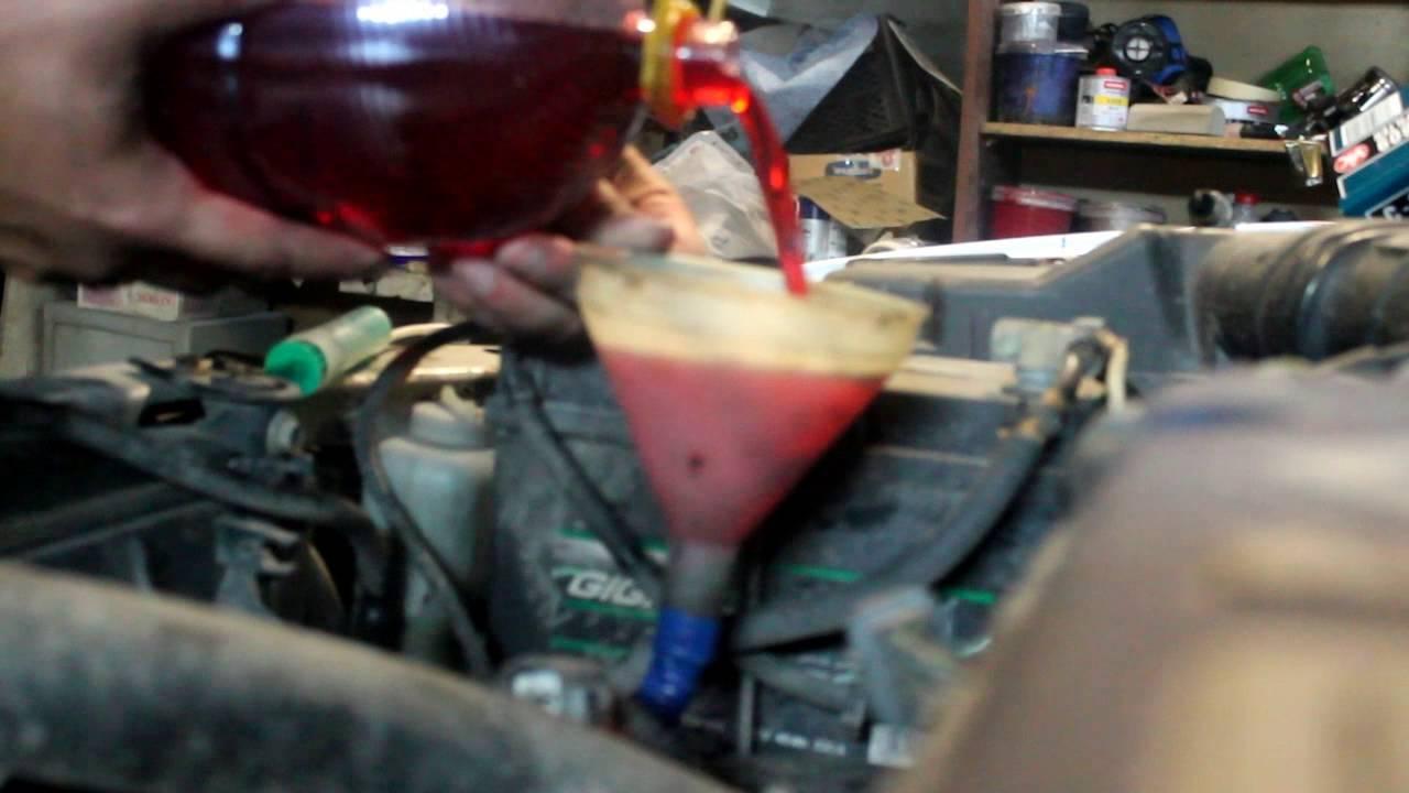 Замена масла в акпп хонда элемент своими руками 1
