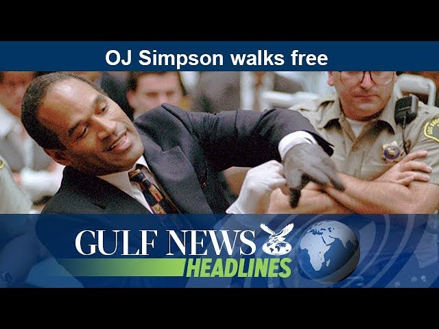 OJ Simpson walks free - GN Headlines