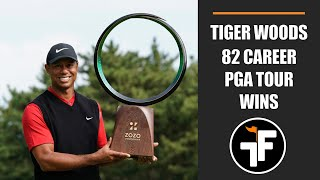 Tiger Woods - the GOAT - ties the PGA TOUR record with 82 wins!