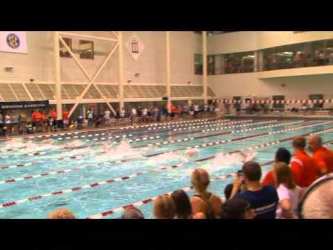 Yannick Agnel Overhauls Michael Phelps in 100 Free
