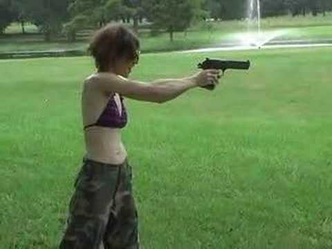 My Wife -vs- the Desert Eagle .50 Video