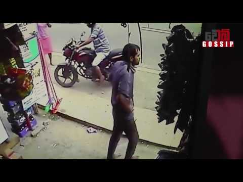 Jaffna Accident CCTV Footage