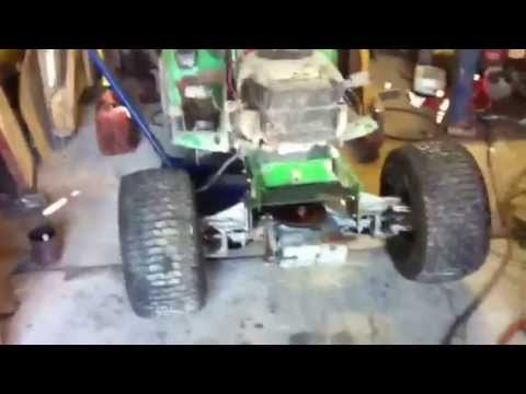 4wd John Deere Mud Mower YouTube