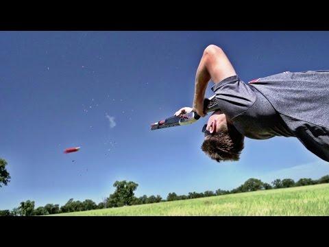 Shotgun Trick Shots | Dude Perfect