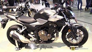 2019 Honda CB500F - Walkaround - Debut at 2018 EICMA Milan