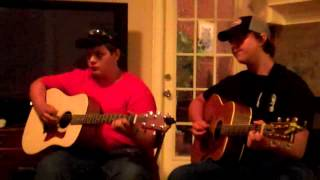 "Robby abd Caleb Cover :"" If I had a cheatin Heart """