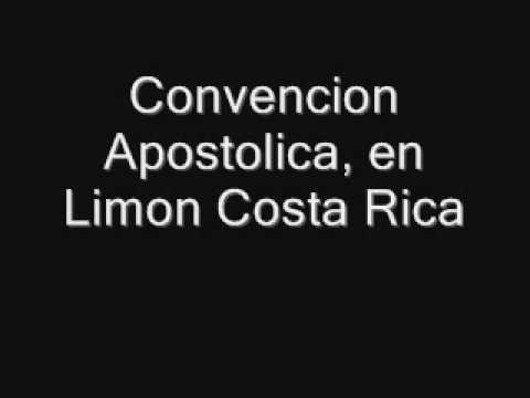 Convencion Apostolica, con el apostol Rafael Ramirez, en Limon.wmv