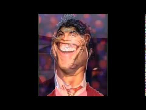 Cristiano Ronaldo Funny Expression Face (Kumpulan Gambar Lucu Wajah
