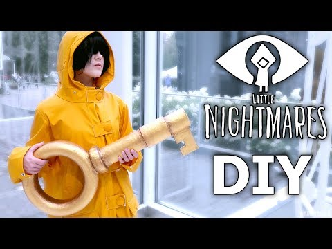 DIY | how to do Little Nightmares KEY cosplay prop  ›› Namikolinx