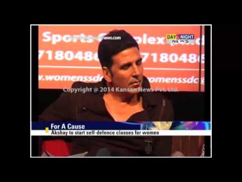 Actor Akshay Kumar to start self  defence classes for women