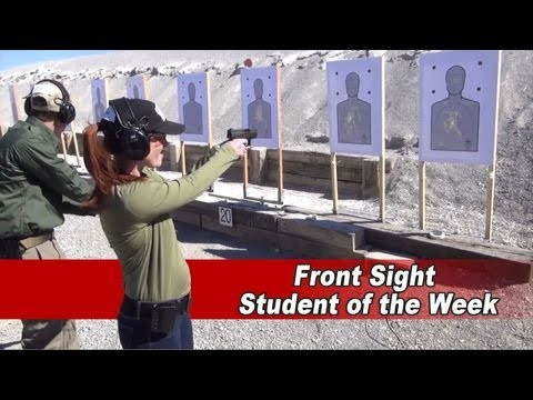 Front Sight Student of the Week - Joanna Radford
