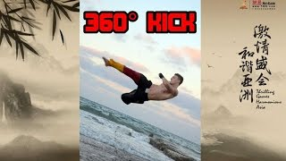 360° Tornado Spinning Roundhouse Kick TUTORIAL