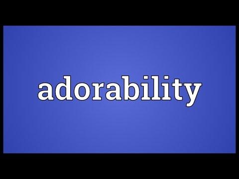 Header of Adorability