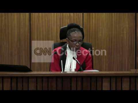 SOUTH AFRICA: JUDGE ORDERS PISTORIUS PSYCH EVAL