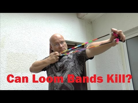 How To Weaponize Rainbow Loom Bands