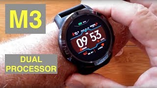 MAKIBES M3 4G Android 7.1.1 IP67 Waterproof Dual Processor Smartwatch: Unboxing and 1st Look