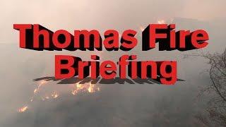 LIVE: Thomas Fire community meeting - 4:00 p.m. 12/16/17