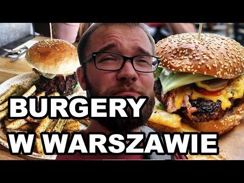 SZUKAM NAJLEPSZEGO BURGERA W Warszawie Vol. I | GASTRO VLOG #51