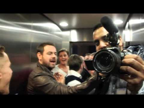 DANNY DYER, TOMMY MARTIN & TEAM GUN GO CRAZY & CELEBRATE ENGLISH TITLE WIN AT THE O2.