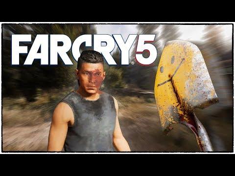 КАК ОТХВАТИТЬ ПО ЛИЦУ ЛОПАТОЙ ЗА 2000 $/ Гайд от Санька :D (Far Cry 5 кооператив #6)
