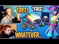 """Streamers Get & React To The *FREE* New """"EQUALIZER"""" Glider!   Fortnite Best And Funny Moments"""