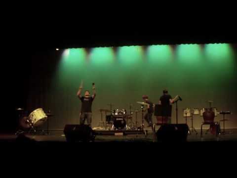 Lakeville South High School Talent Show 2010, Improv Drums with Peter Barnes, Cody & Beef
