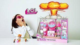 FÁBRICA DE LOL SURPRISE CASEIRA ★ Será que vai explodir? ★ Review Charm Fizz Factory