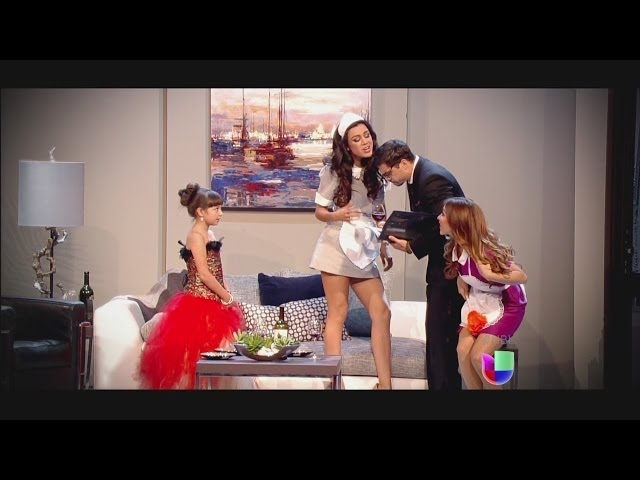 Aly y María Elena midieron su talento con la temible 'Telesa'