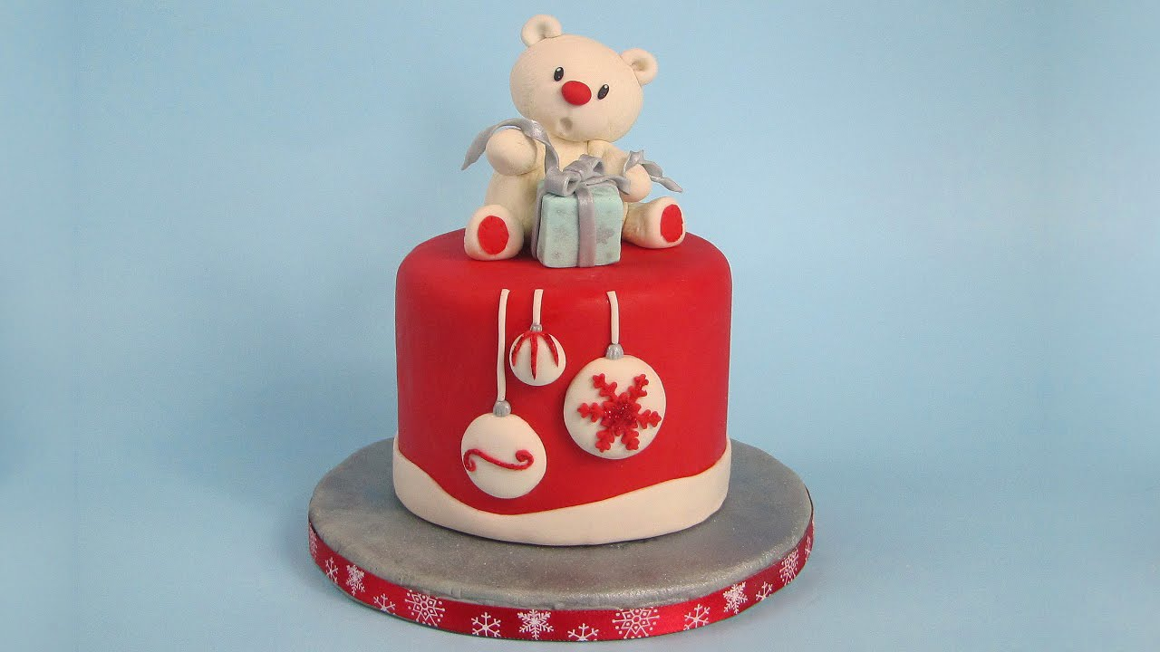 Sugar Paste Cake Decorations