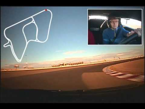 Fredrik driving McLaren, Lamborghini and Ferrari at Exotics Racing Las Vegas