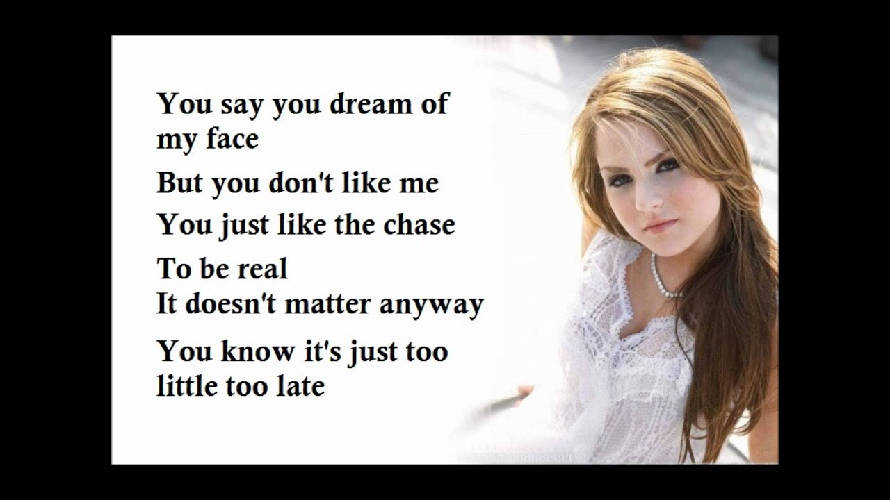 JoJo little too late lyrics