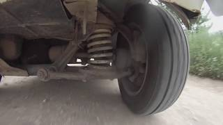 Lada 4x4 front suspension