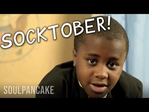 Hello Internet! It's #SOCKTOBER! Love, Kid President