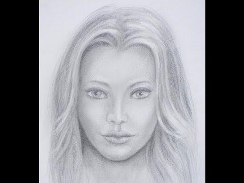 Cómo dibujar una cara realista Cómo dibujar un rostro