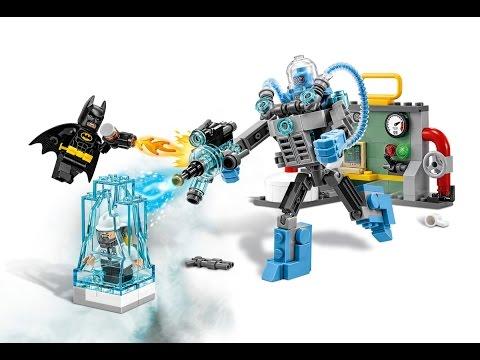 LEGO 70901  Ледяная атака мистера Фриза. Mr.  Freeze Ice Attack.  The Batman Movie.  Обзор