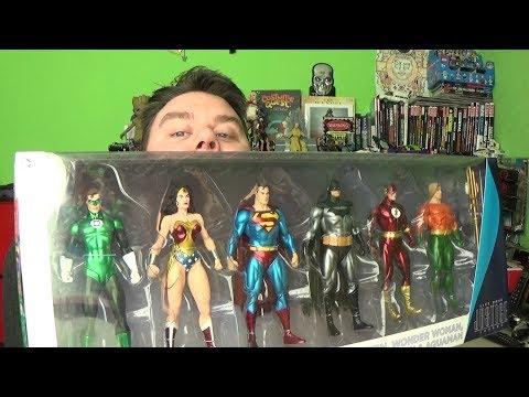 Justice League Alex Ross DC Collectibles  Action Figure 6-Pack Review